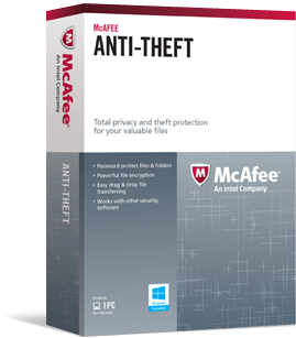McAfee Anti-Theft Beta