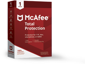 McAfee® Total Protection - 1 Device